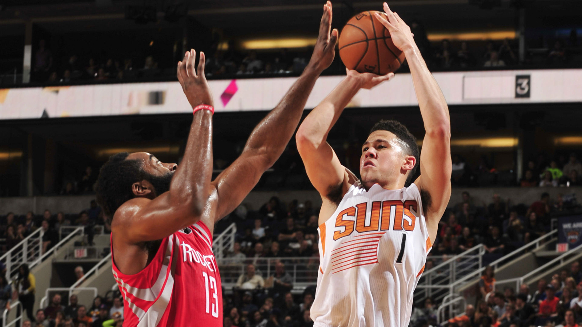 Devin Booker has taken a page out of James Harden's playbook — and it's working