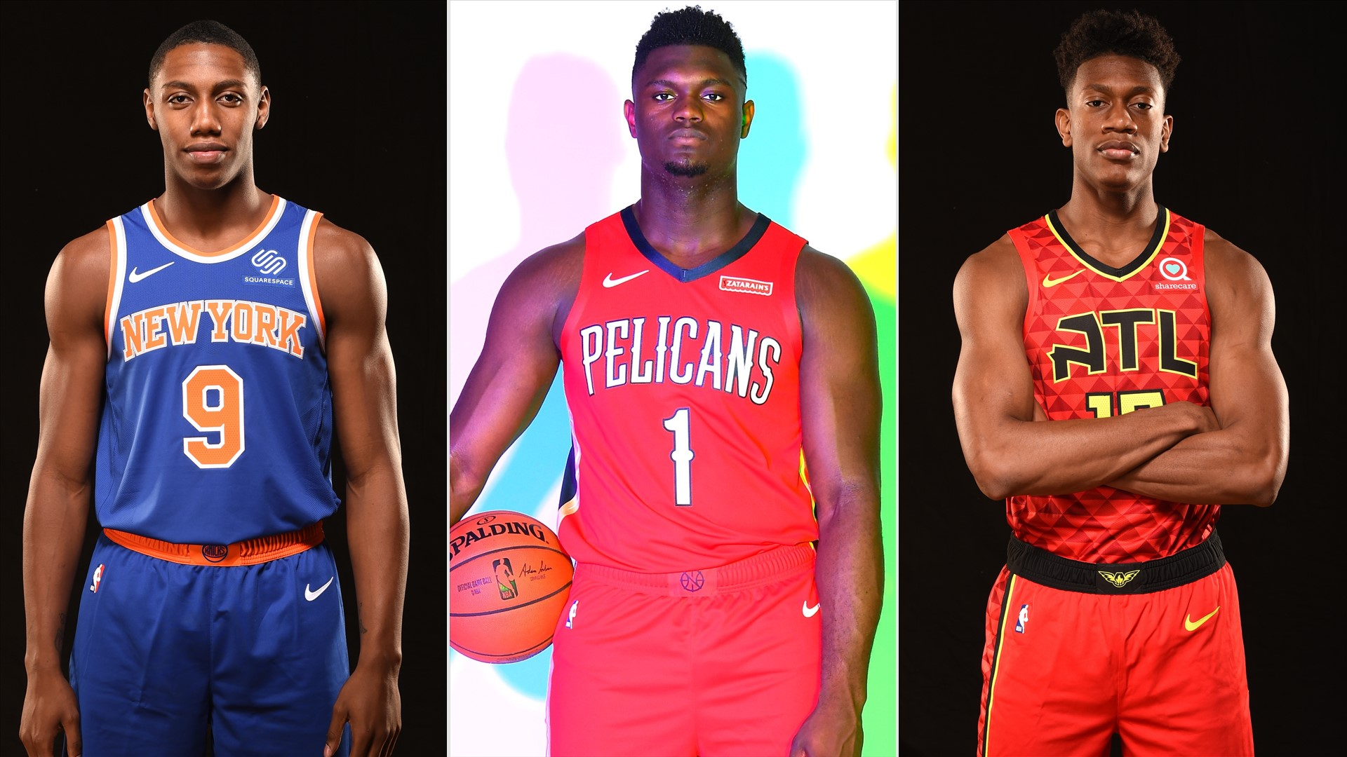 Best sights and sounds from the 2019 NBA Rookie Photo Shoot