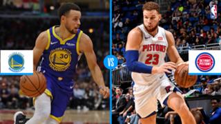 Golden State Warriors vs. Detroit Pistons
