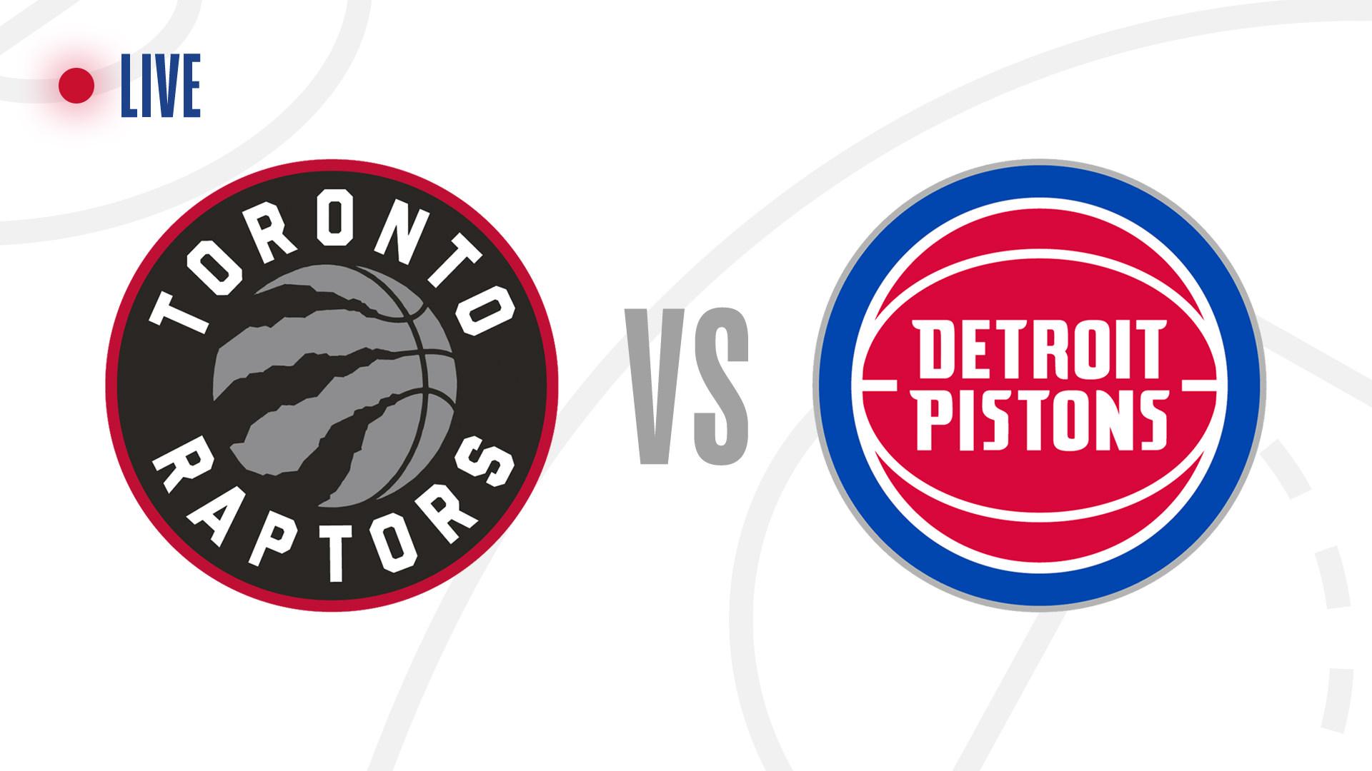 Toronto Raptors Vs Detroit Pistons Live Updates