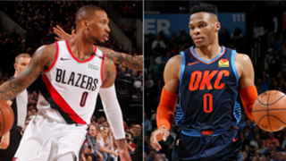 Damian Lillard and Russell Westbrook