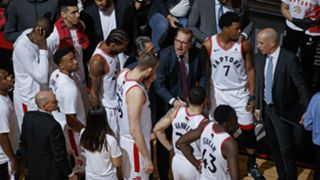 The Raptors led by as many as 12 points in Game 2.
