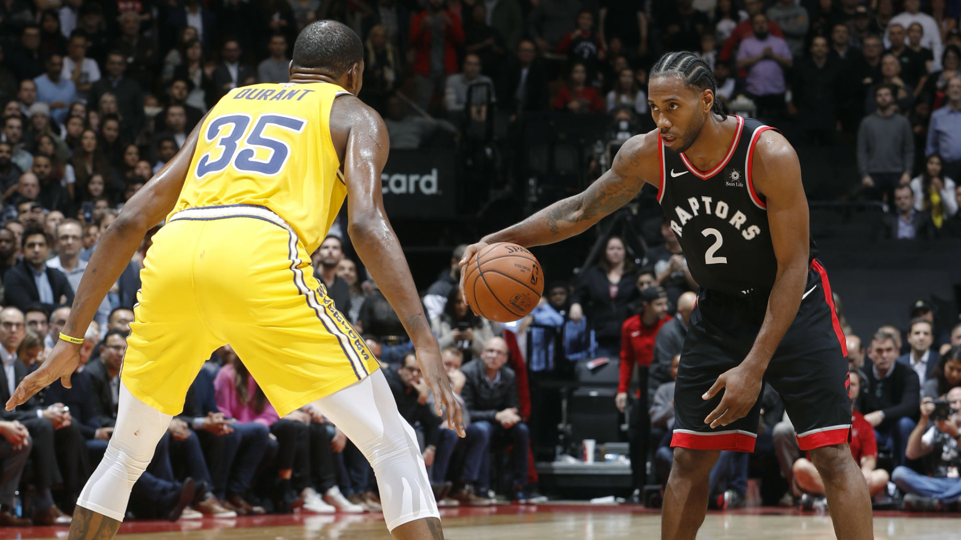 Thursday Night S Raptors Warriors Game Sets Tv Viewership