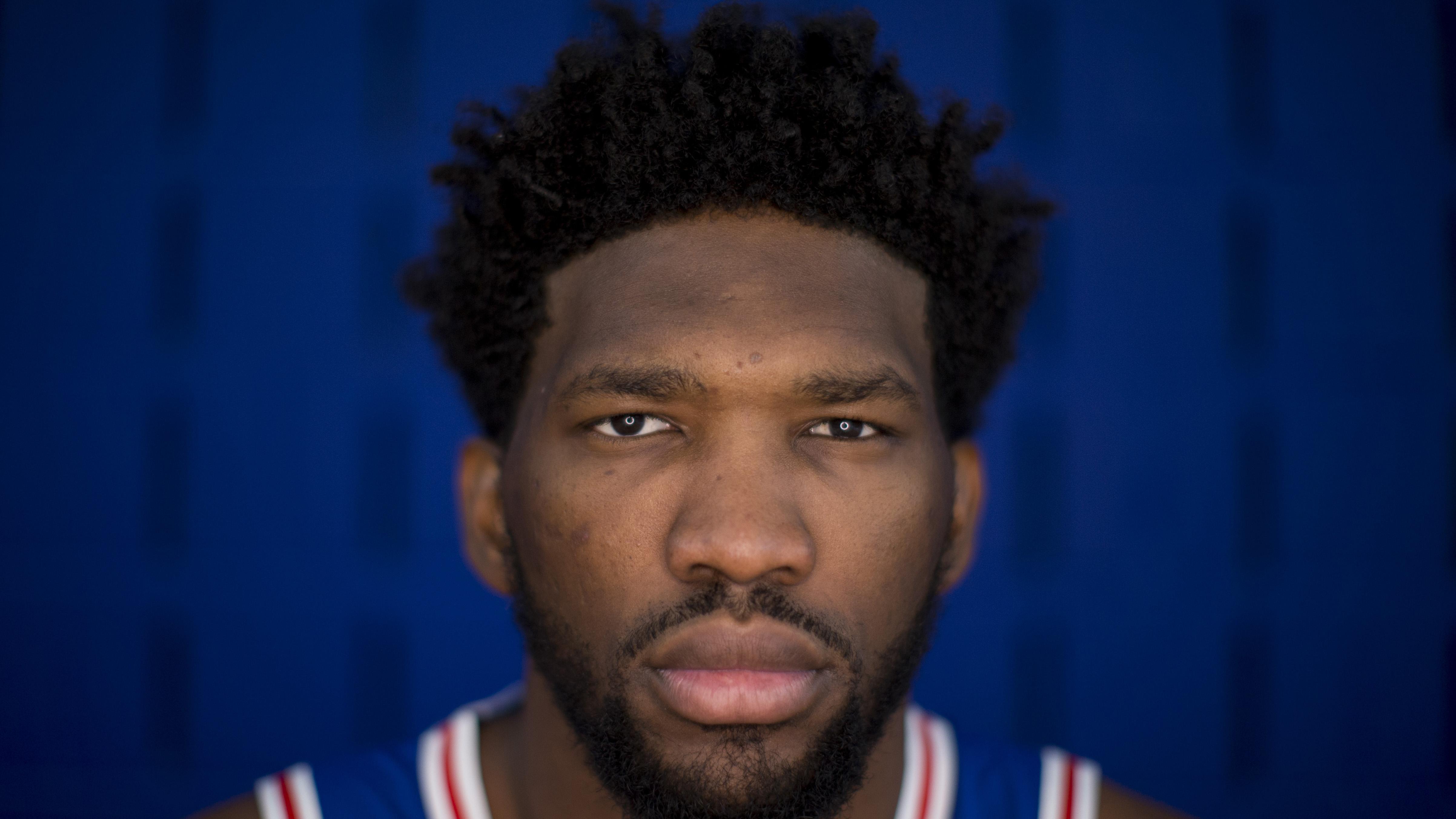 Joel Embiid NBA Philadelphia 76ers