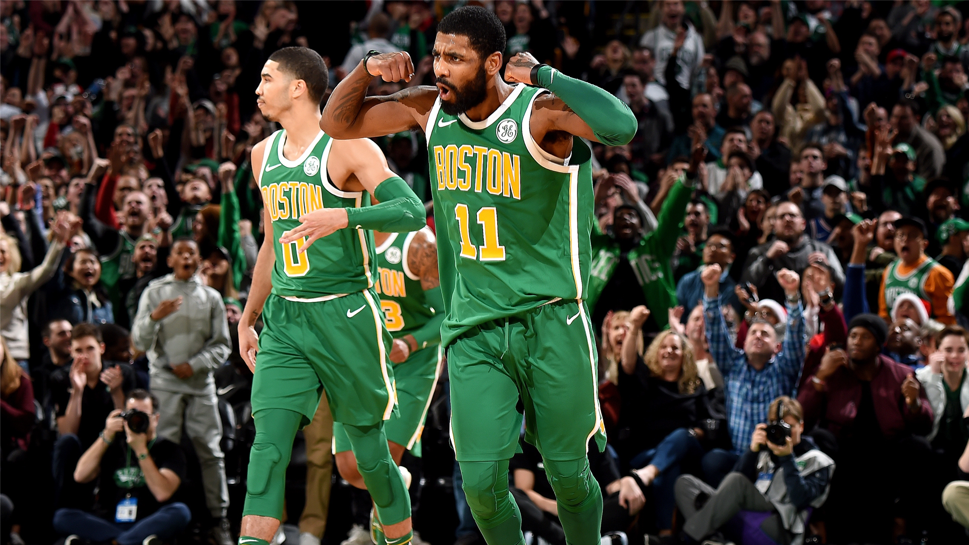 063b9194ee5f Four takeaways from Kyrie Irving s 40-point performance as the Celtics  win  an overtime thriller against the 76ers