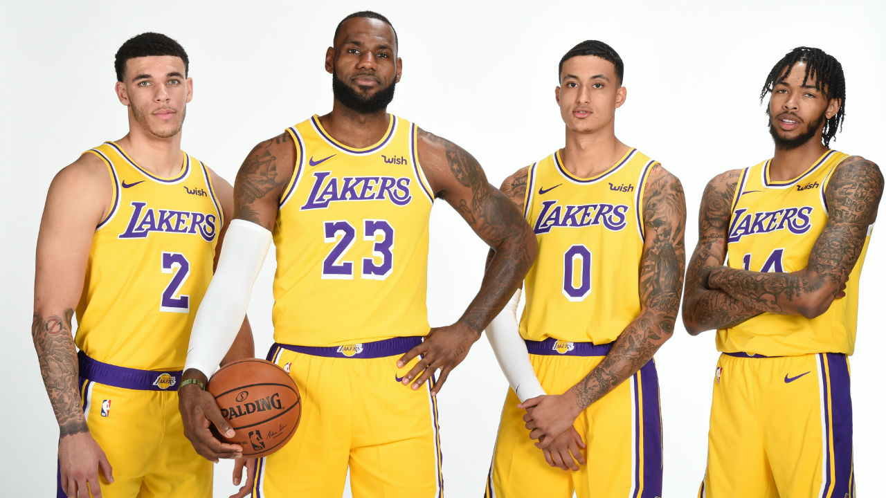 Nba Basketball Los Angeles Lakers: LeBron James Says Los Angeles Lakers Don't Need Title For