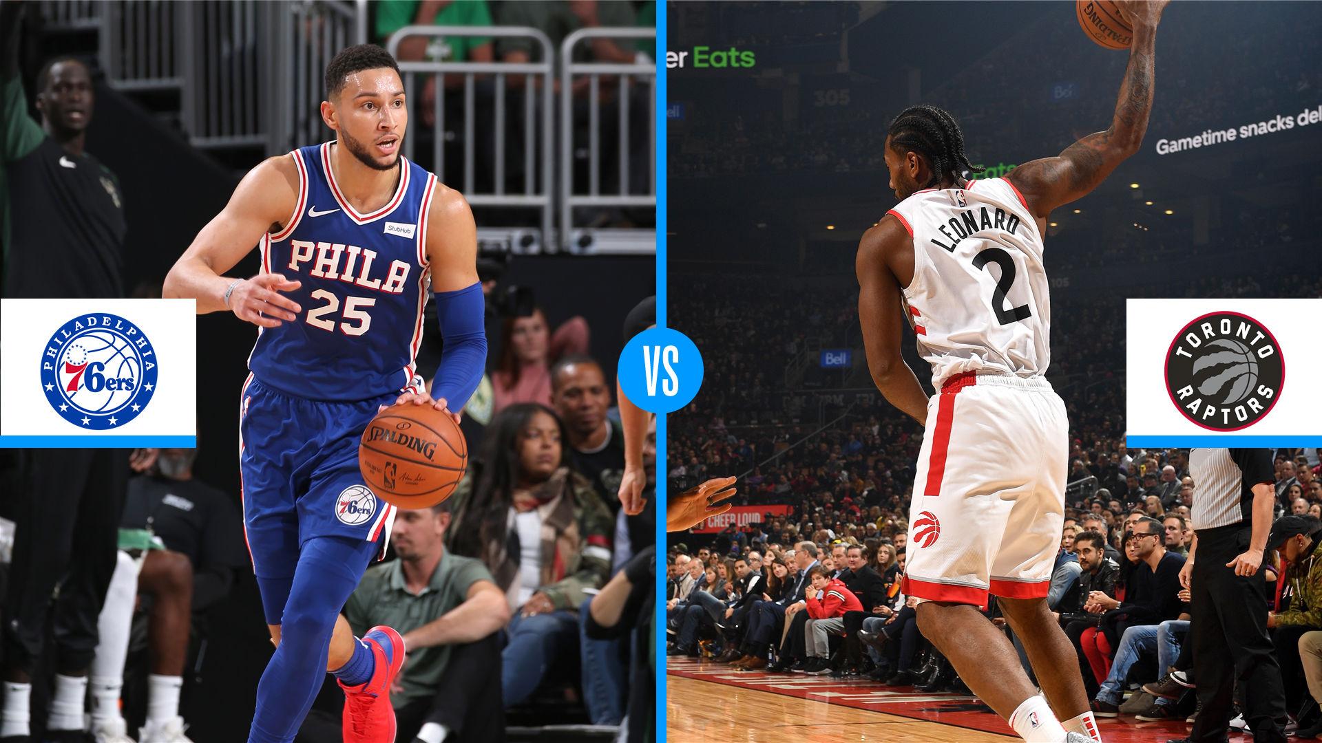 Toronto Raptors Vs Philadelphia 76ers Game Preview Live