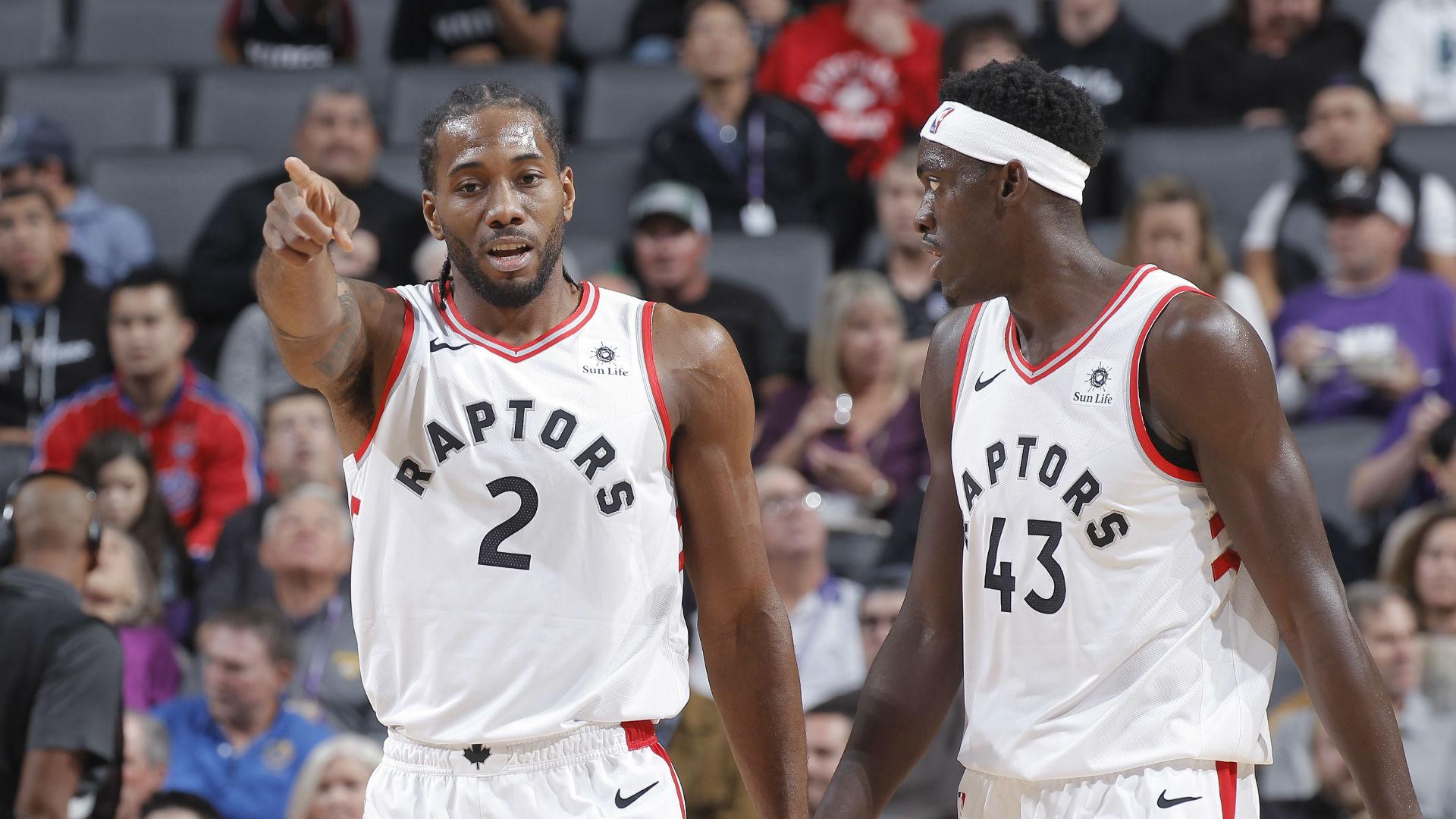 In games that Kawhi Leonard has missed, Pascal Siakam has been the Raptors' leading scorer.