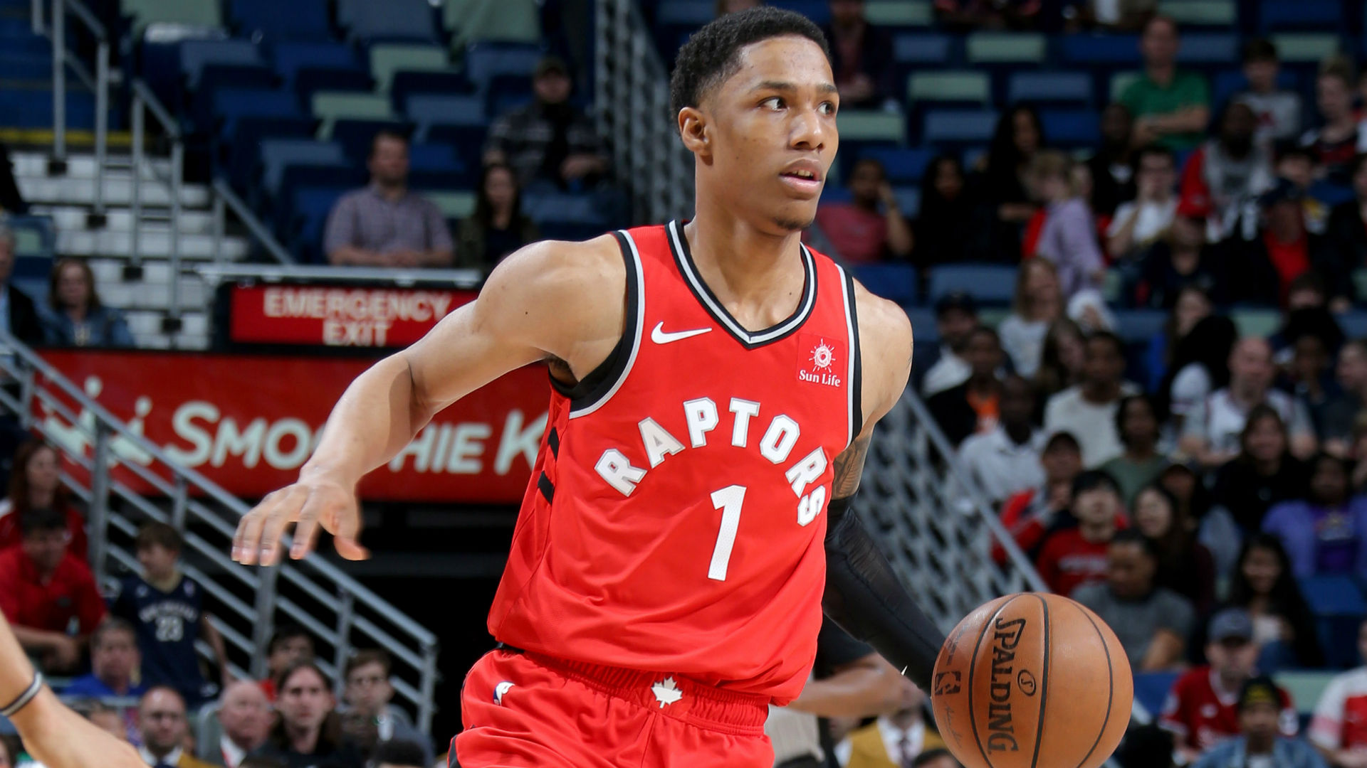 Toronto Raptors Forward Patrick Mccaw To Miss At Least Three Weeks With Sprained Right Thumb Nba Com Canada The Official Site Of The Nba