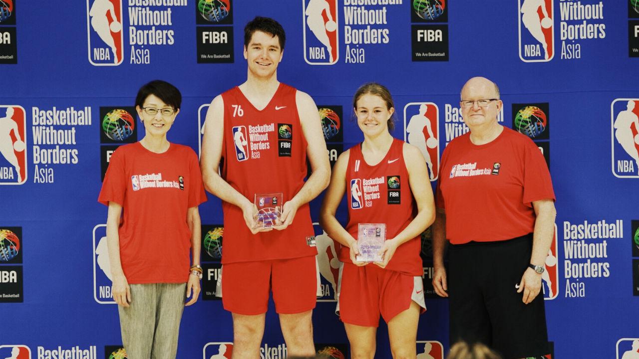 Seven Aussie juniors named in BWB Asia All-Star teams, Queensland's Georgia Woolley wins girl's MVP