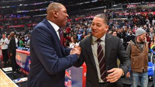 Doc Rivers and Ty Lue