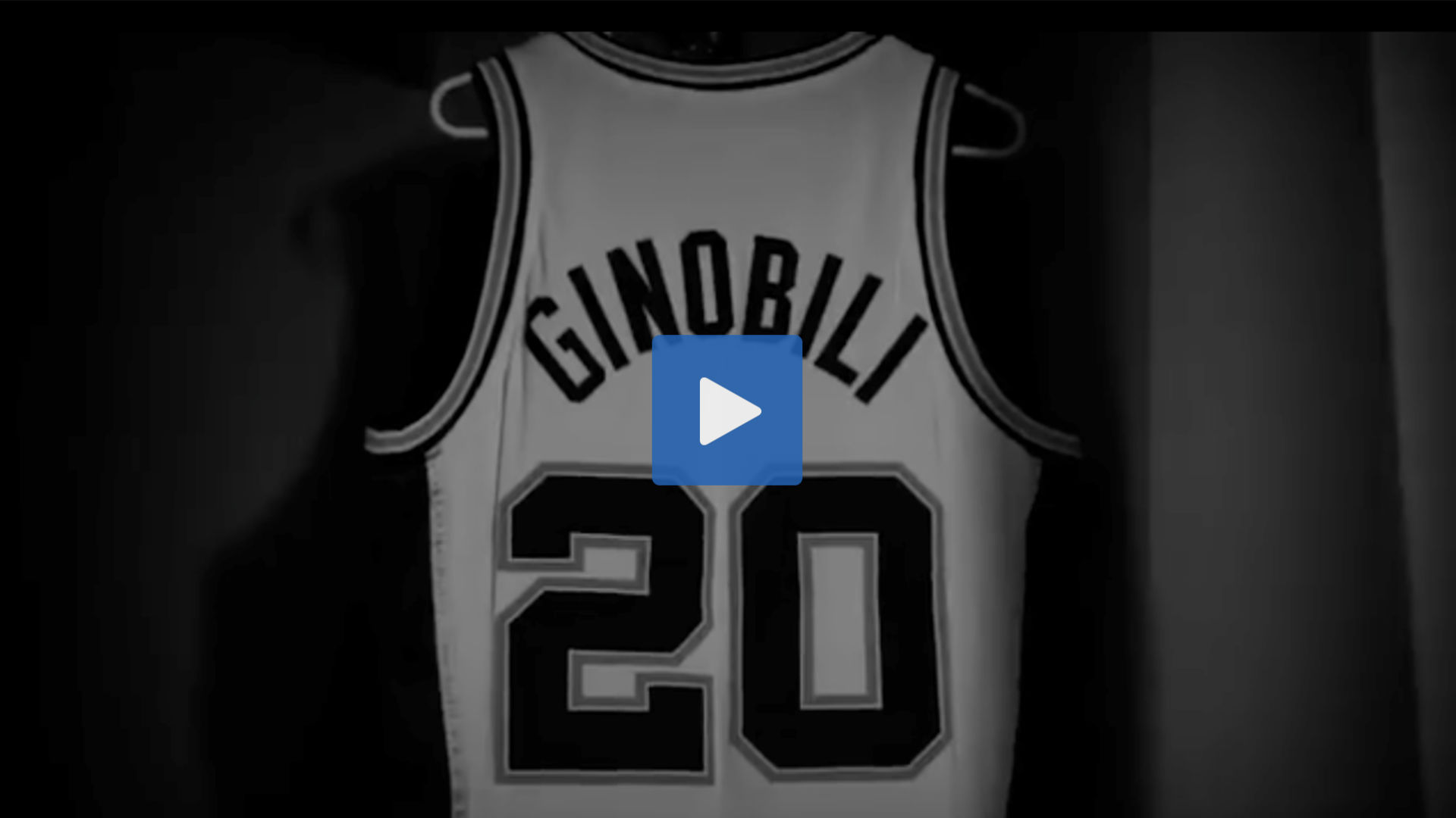 best website 6809a 872e4 WATCH: Manu Ginobili's jersey retirement and tribute video ...