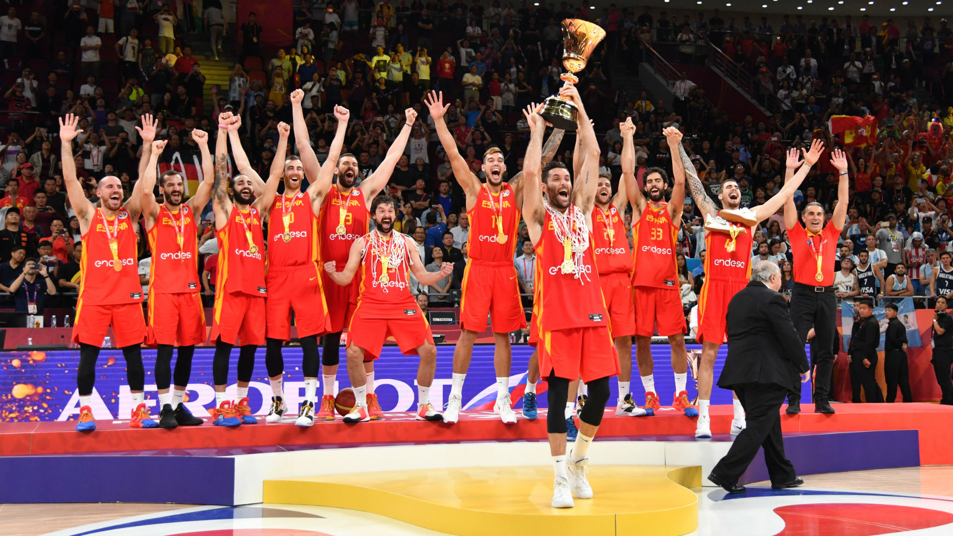 FIBA Basketball World Cup 2019: Spain takes gold with 20-point win over Argentina