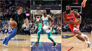 Where do Luka Doncic, Kemba Walker and James Harden fall this week?