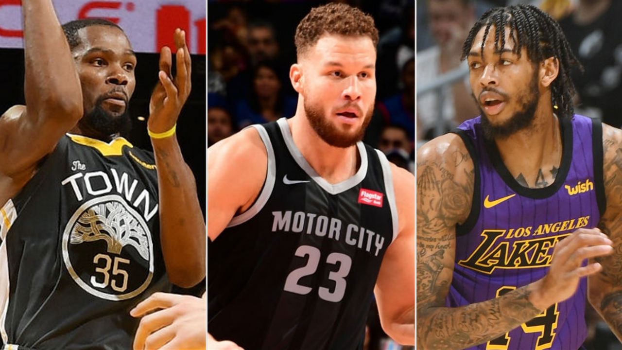 NBA scores and highlights - Griffin stars in OT, Warriors ...