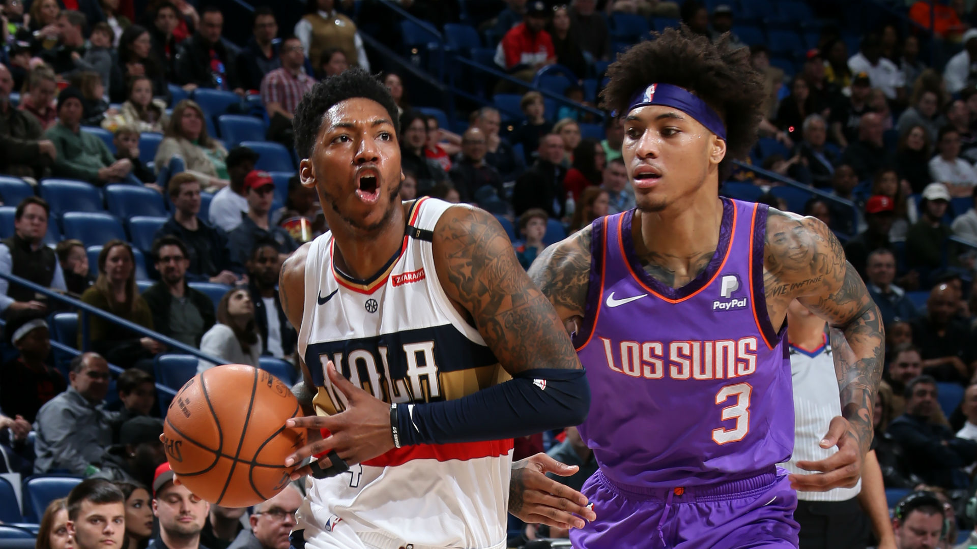 Elfrid Payton joins Magic Johnson and James Harden in history books with fourth consecutive triple-double
