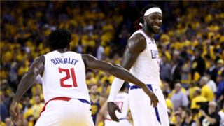 Patrick Beverley and Montrezl Harrell