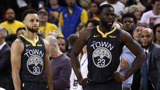 Stephen Curry and Draymond Green