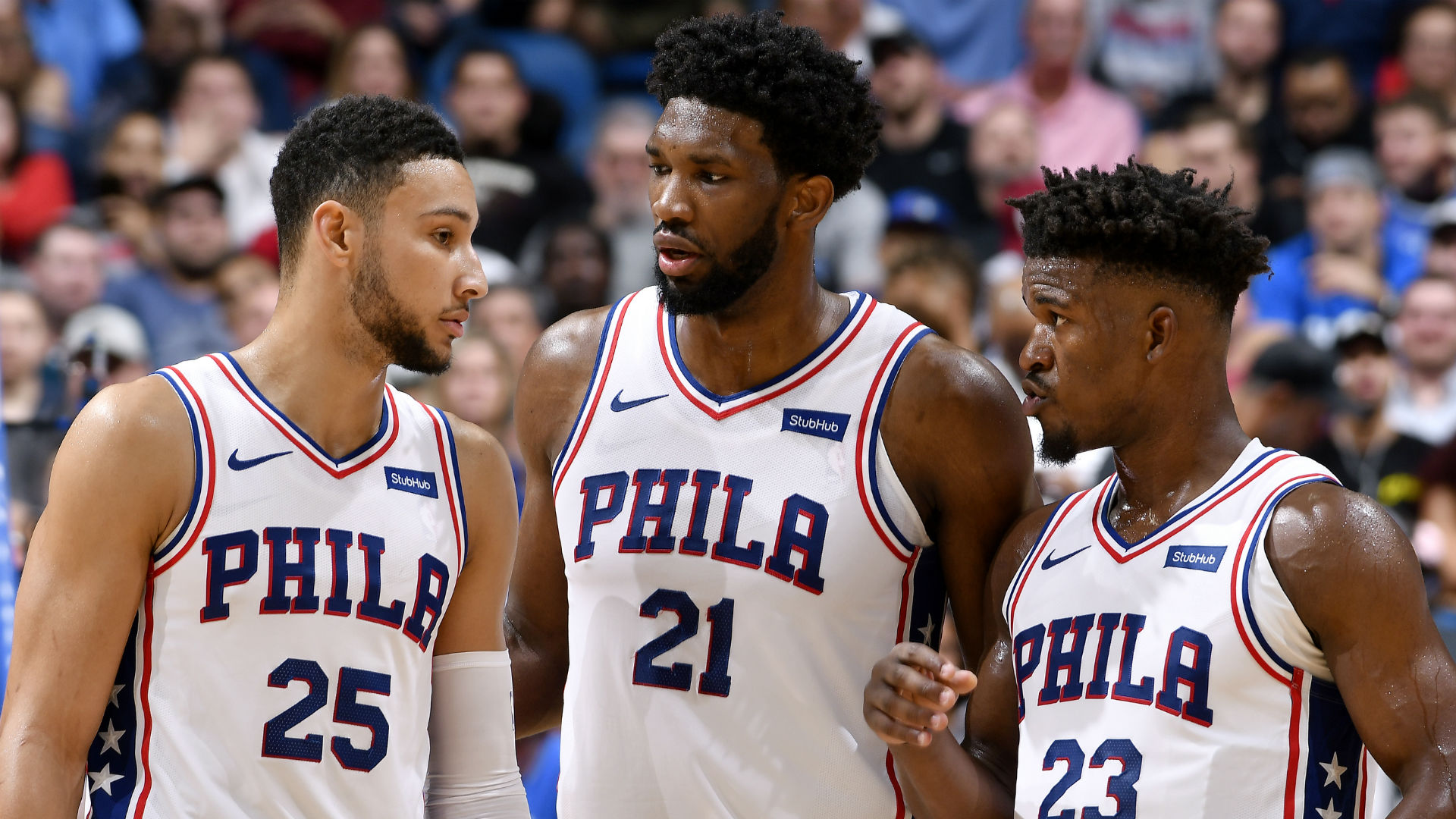 a33ea30ce It s too soon to give up on the 76ers  big three of Jimmy Butler ...