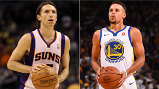 Steve Nash and Stephen Curry