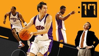 Steve Nash took the high-scoring Suns to new heights