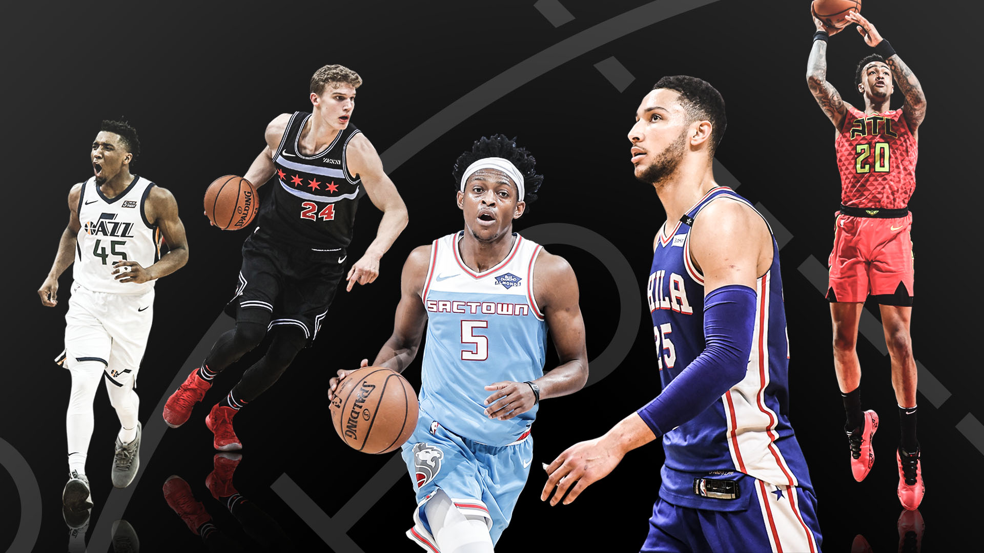 653ce40e67c Ranking the NBA s best second-year players  how Ben Simmons stacks up with  Donovan Mitchell