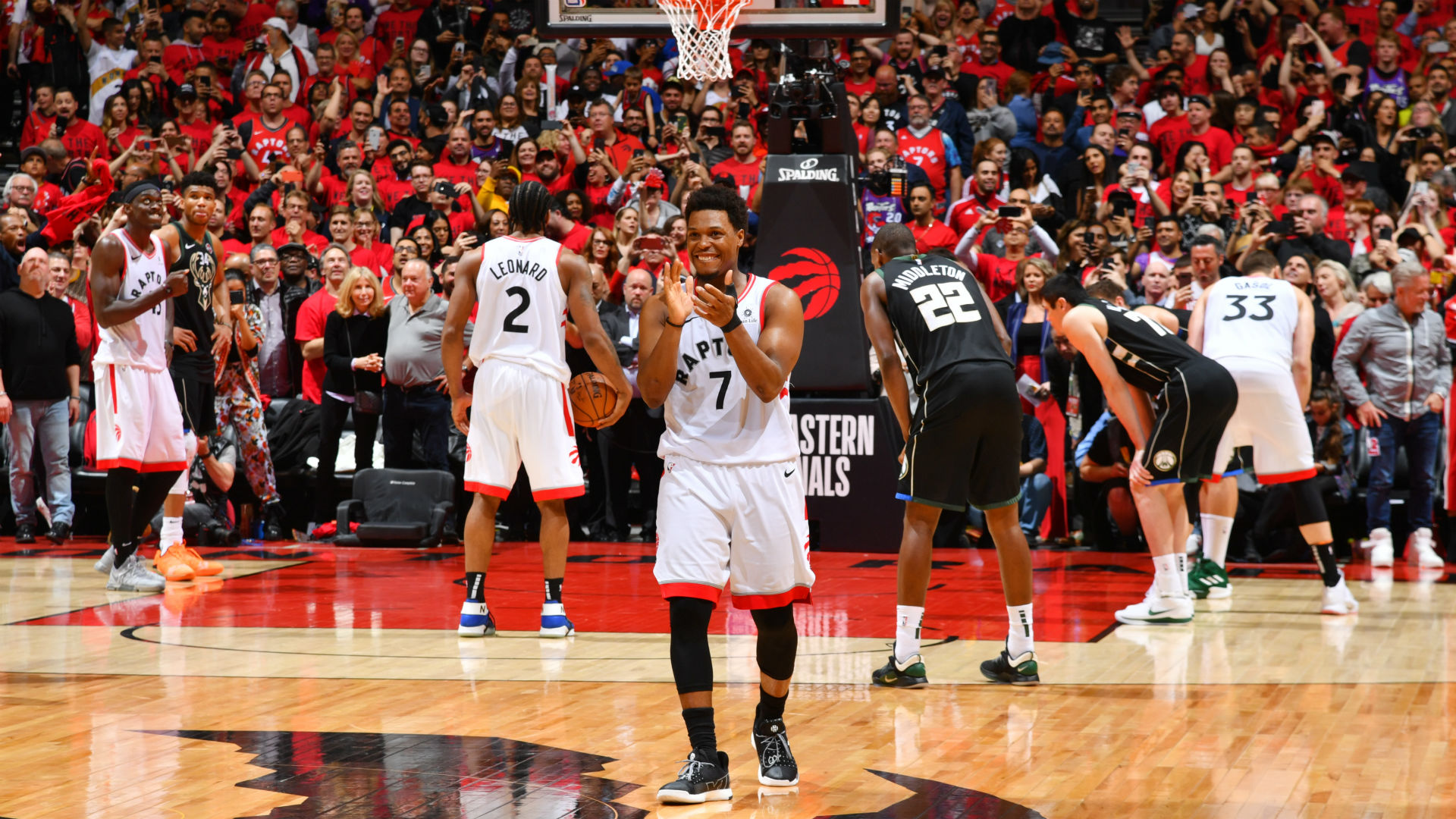 NBA Playoffs 2019: Raptors-Bucks Game 6 sets record as ...