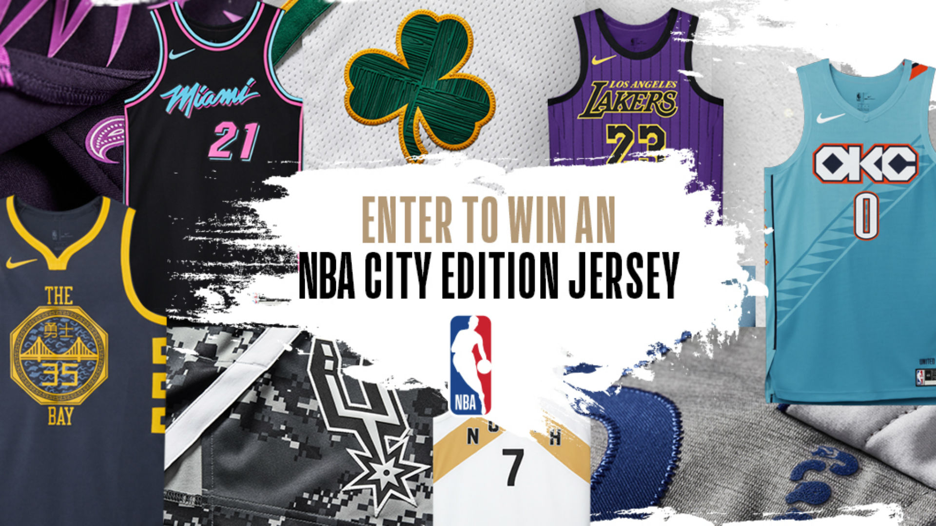 NBA City Edition Jersey Sweepstakes: Enter to win! | NBA ...