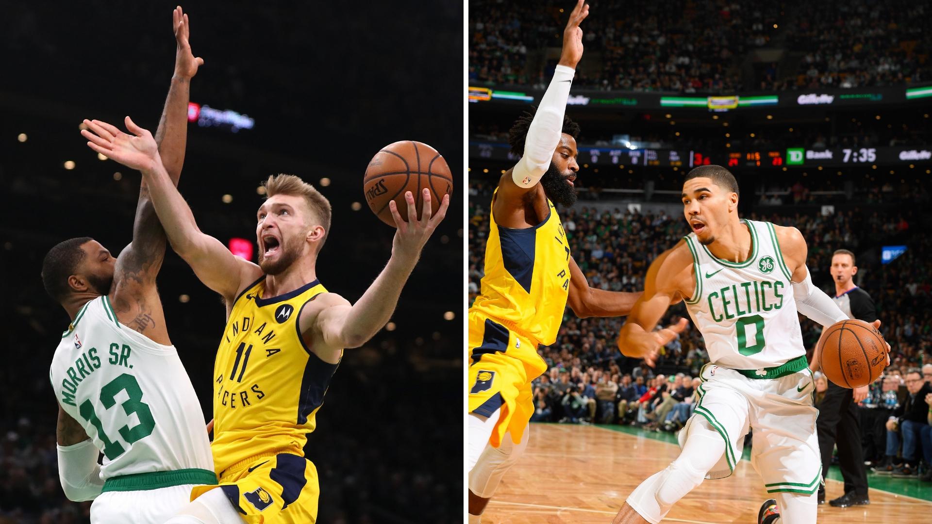 Pacers, Celtics