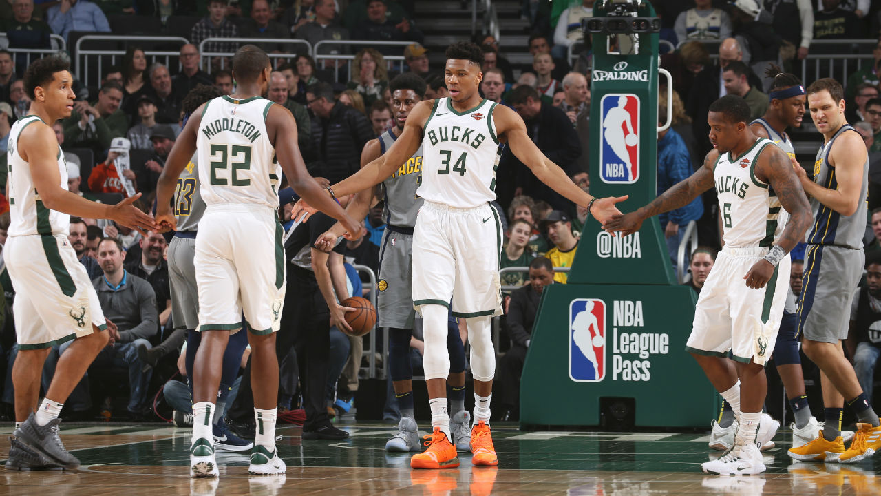 Milwaukee Bucks snap losing streak, take care of gallant Indiana Pacers at home