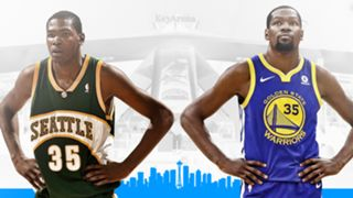 Durant returns to where he played as a rookie