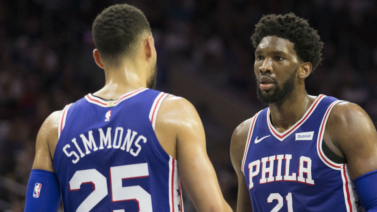 Embiid scores 33 points, Simmons posts near triple-double as 76ers win third straight game