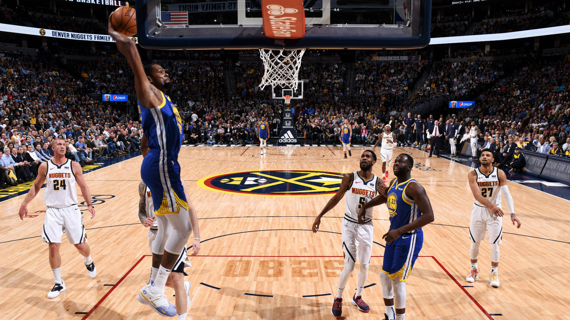 Warriors Set Nba Record With 51 First Quarter Points