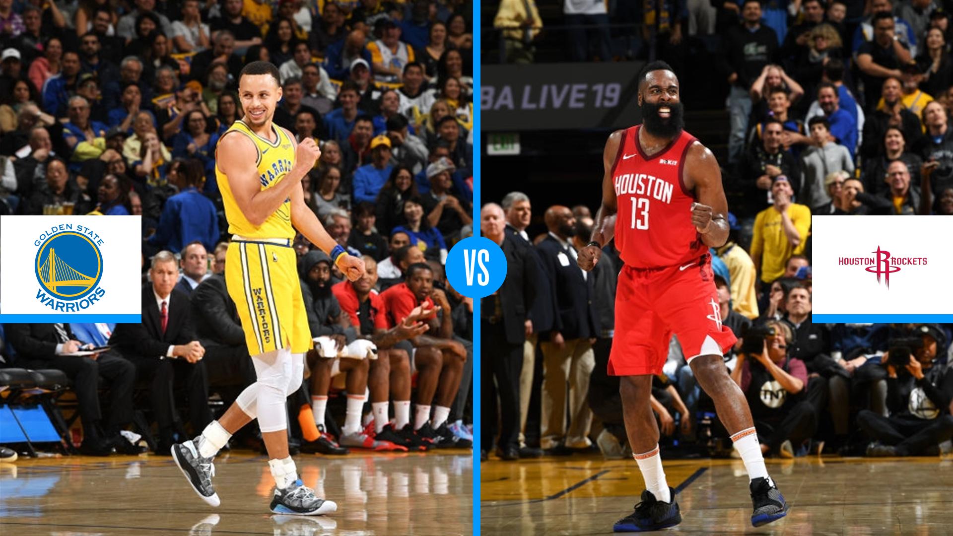 f342eaa6e9f NBA Playoffs 2019  Golden State Warriors vs. Houston Rockets series preview