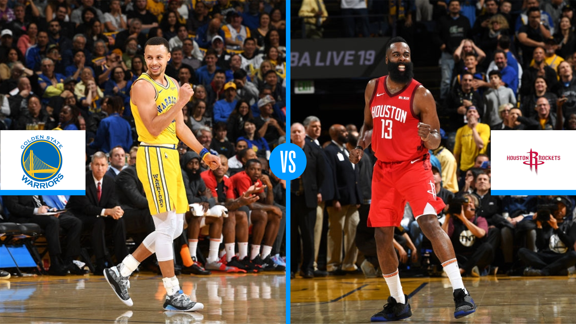 ea28d1a299cc NBA Playoffs 2019  Golden State Warriors vs. Houston Rockets series preview