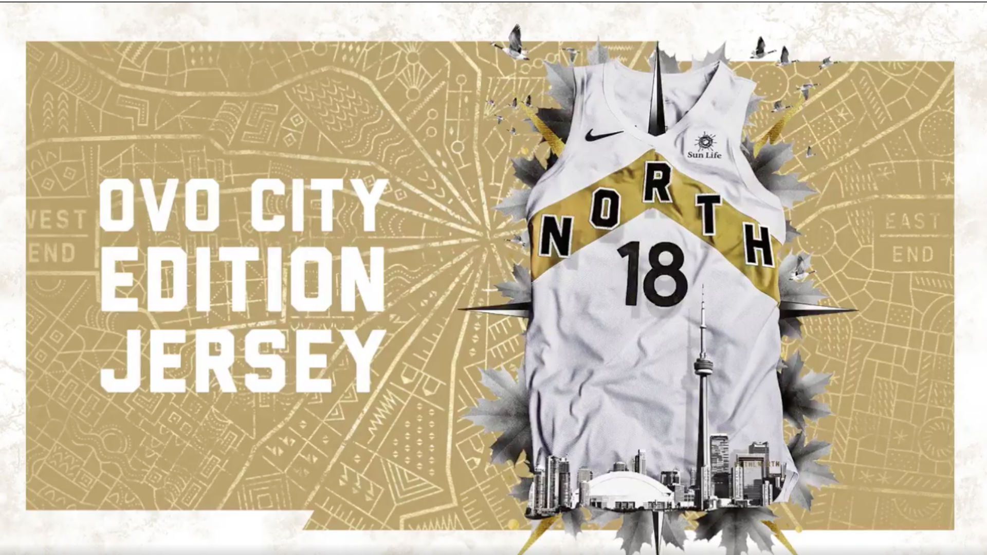 Toronto Raptors release OVO city edition jerseys and  Welcome Toronto   nights  373fc0601