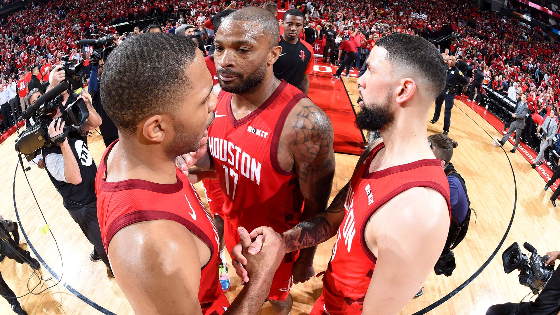 Austin Rivers PJ Tucker Eric Gordon