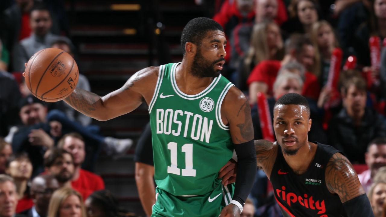 Celtics Locker Room