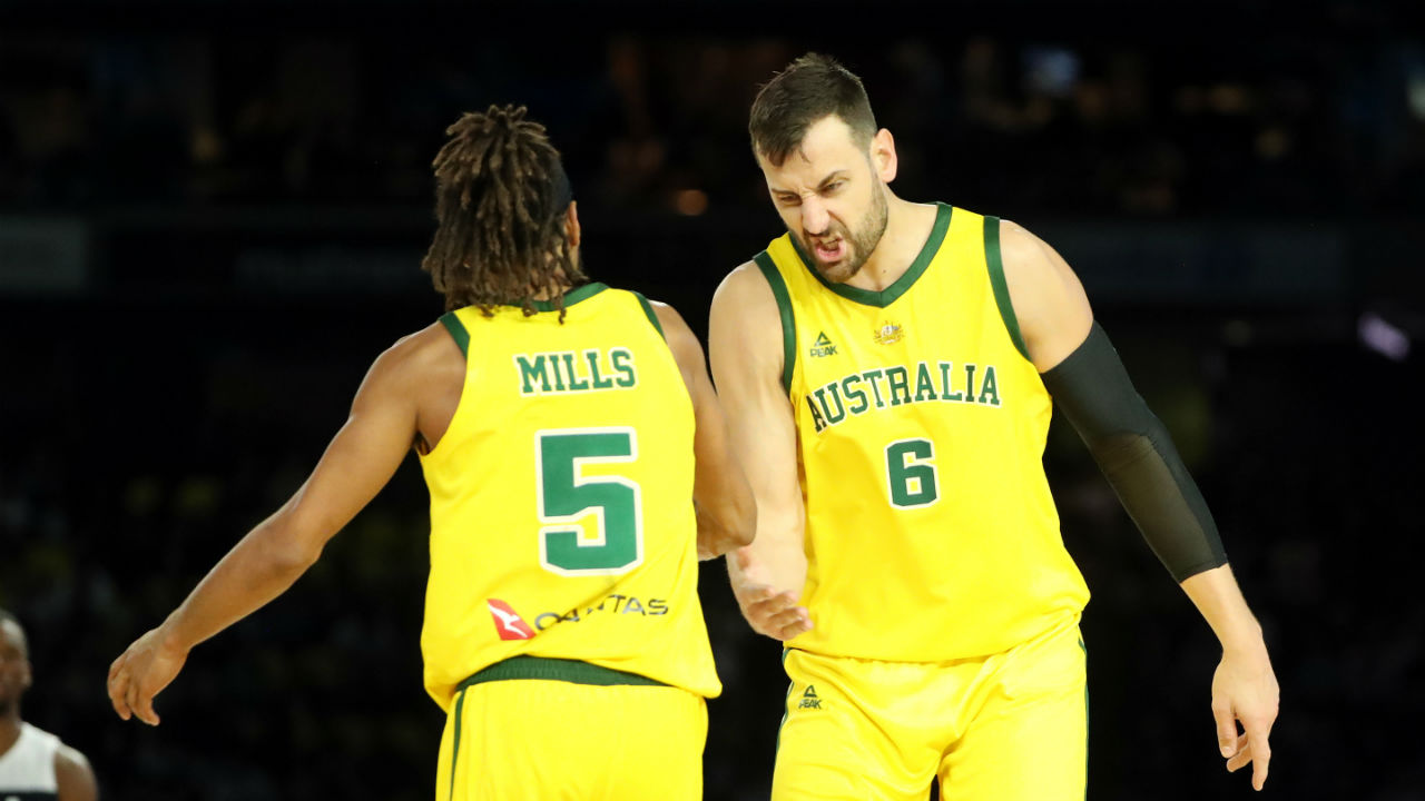 best service bf0b3 e990a FIBA Basketball World Cup 2019: Andrew Bogut and the Boomers ...