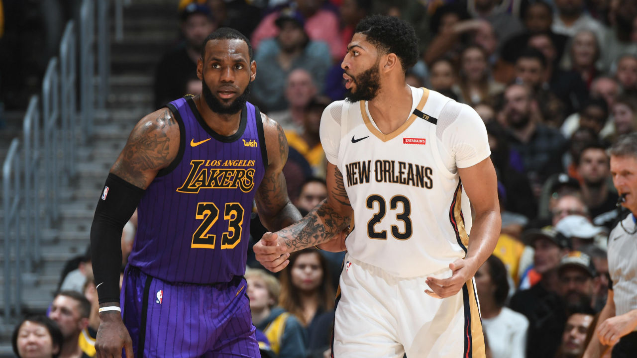b2b398b15f7d LeBron James posts triple-double to lead Lakers to home win over Pelicans
