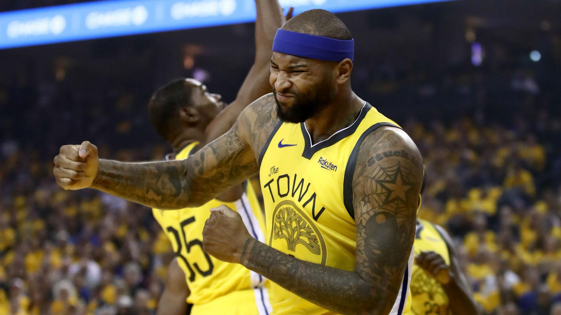 NBA Playoffs 2019: Steve Kerr says DeMarcus Cousins will ...