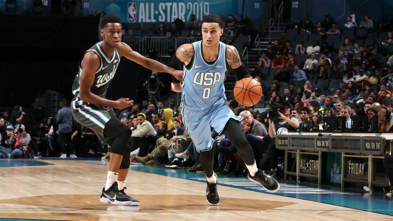 NBA Rising Stars Game 2019: Kyle Kuzma leads Team USA over ...