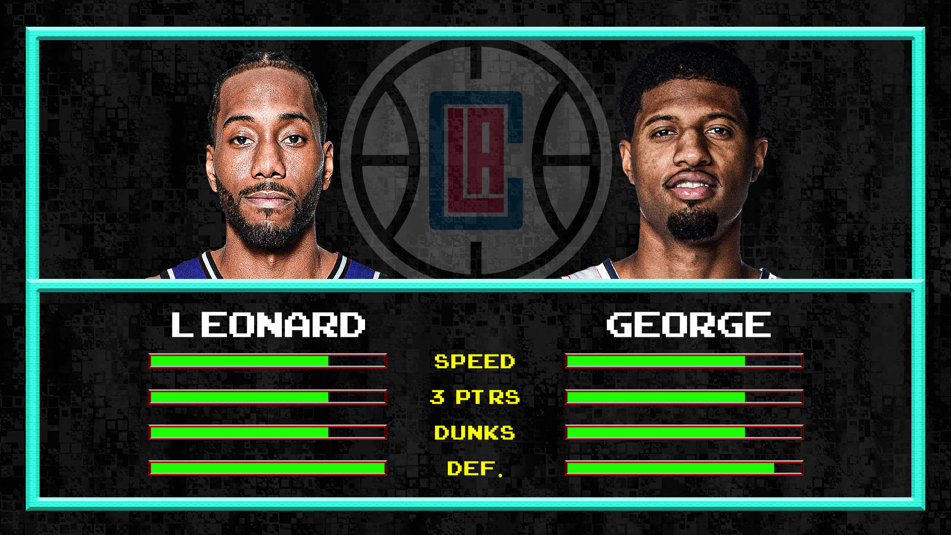 Kawhi Leonard and Paul George are the best defensive wing duo since Michael Jordan and Scottie Pippen