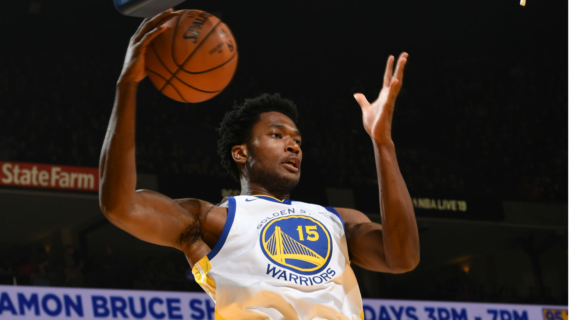 Report Golden State Warriors Centre Damian Jones Is Out