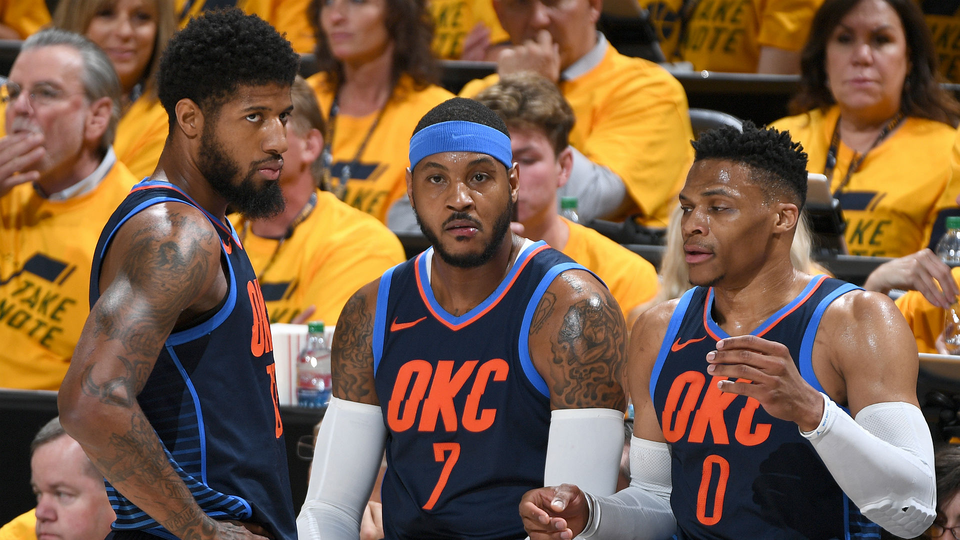 Why the Thunder might be forced to stretch Carmelo Anthony ...