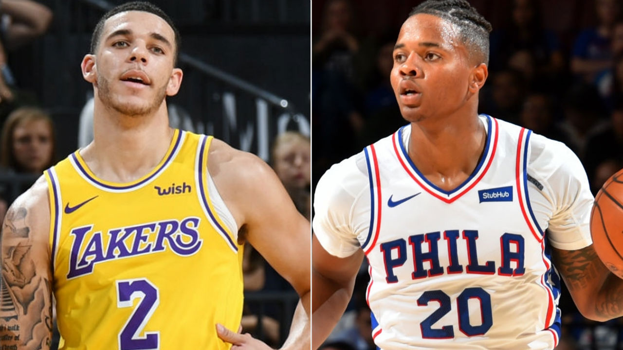 BLOGTABLE: Is Markelle Fultz or Lonzo Ball more likely to have breakout second season?