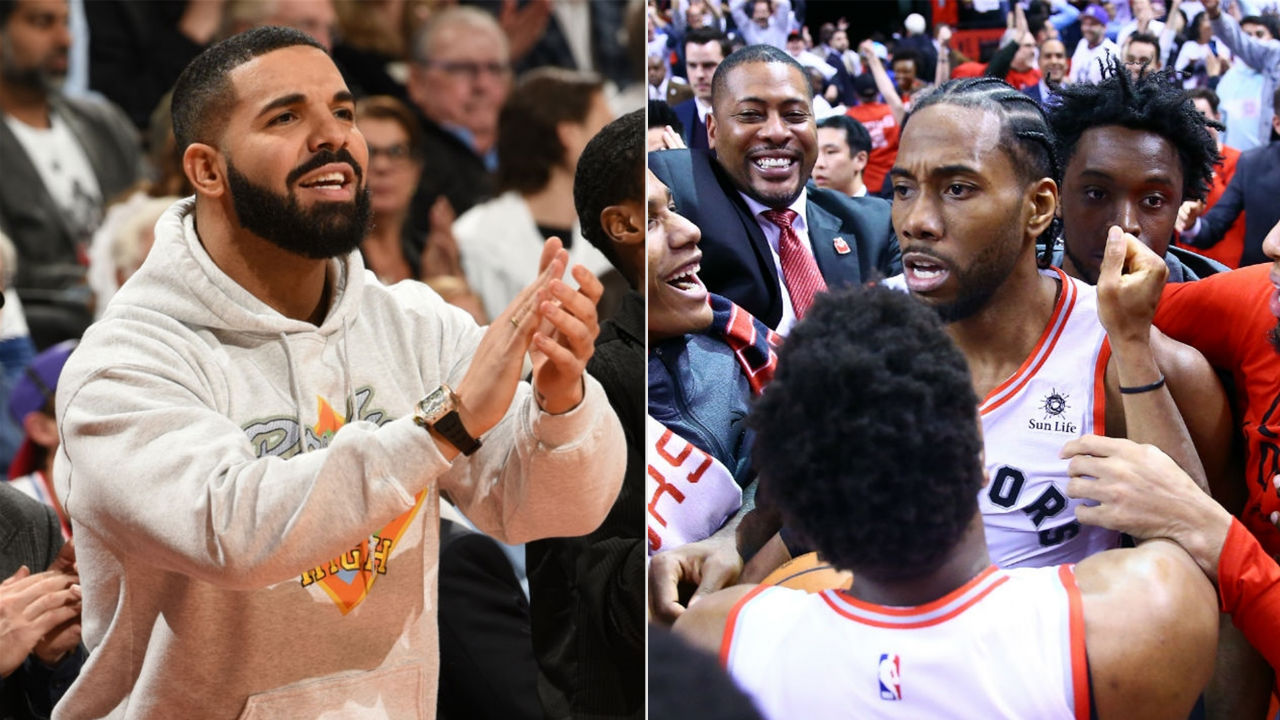 8a79c714 NBA Playoffs 2019: Drake hints that a Kawhi Leonard-inspired ...