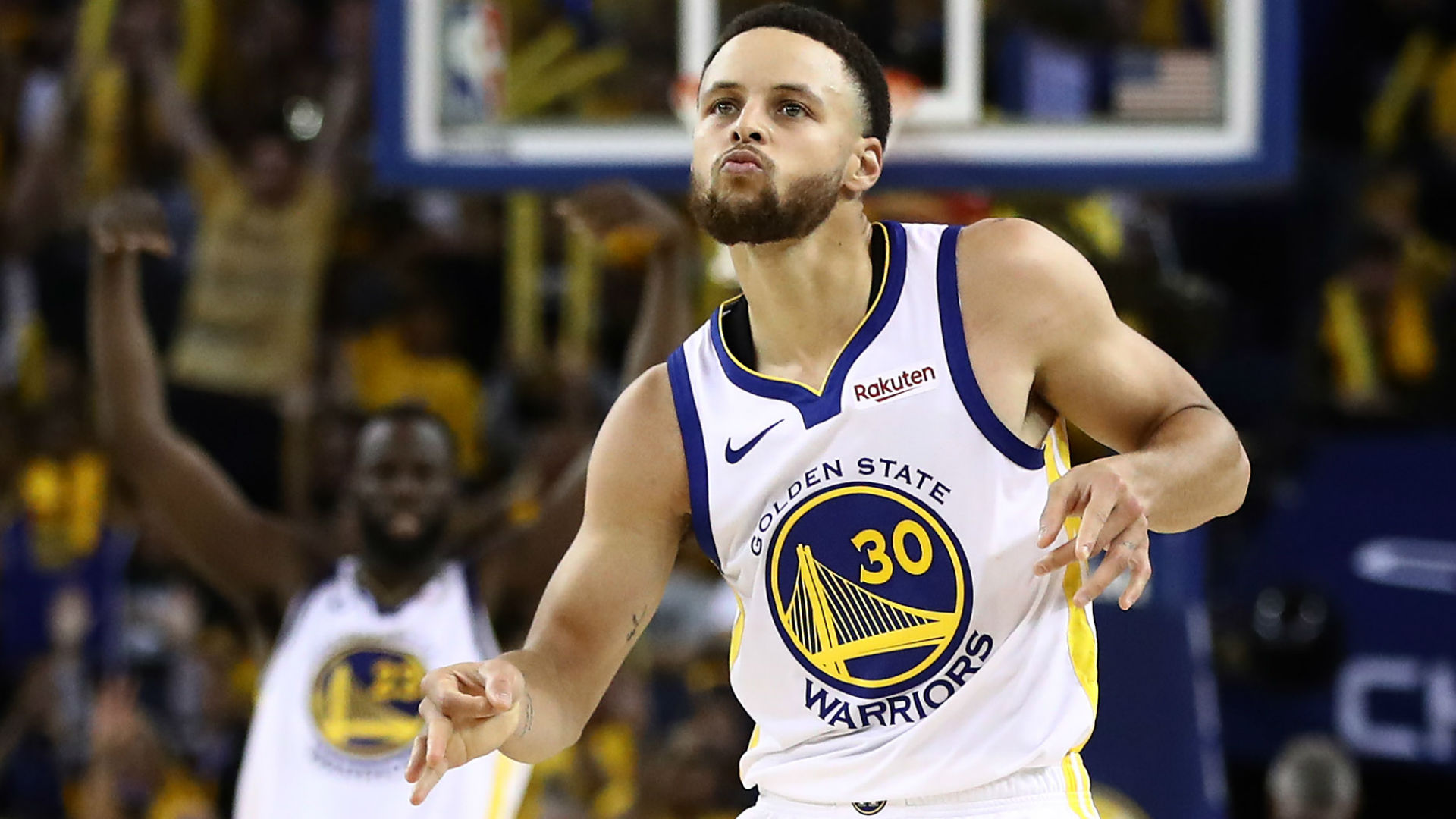 NBA Playoffs 2019: Stephen Curry passes Ray Allen, breaks ...