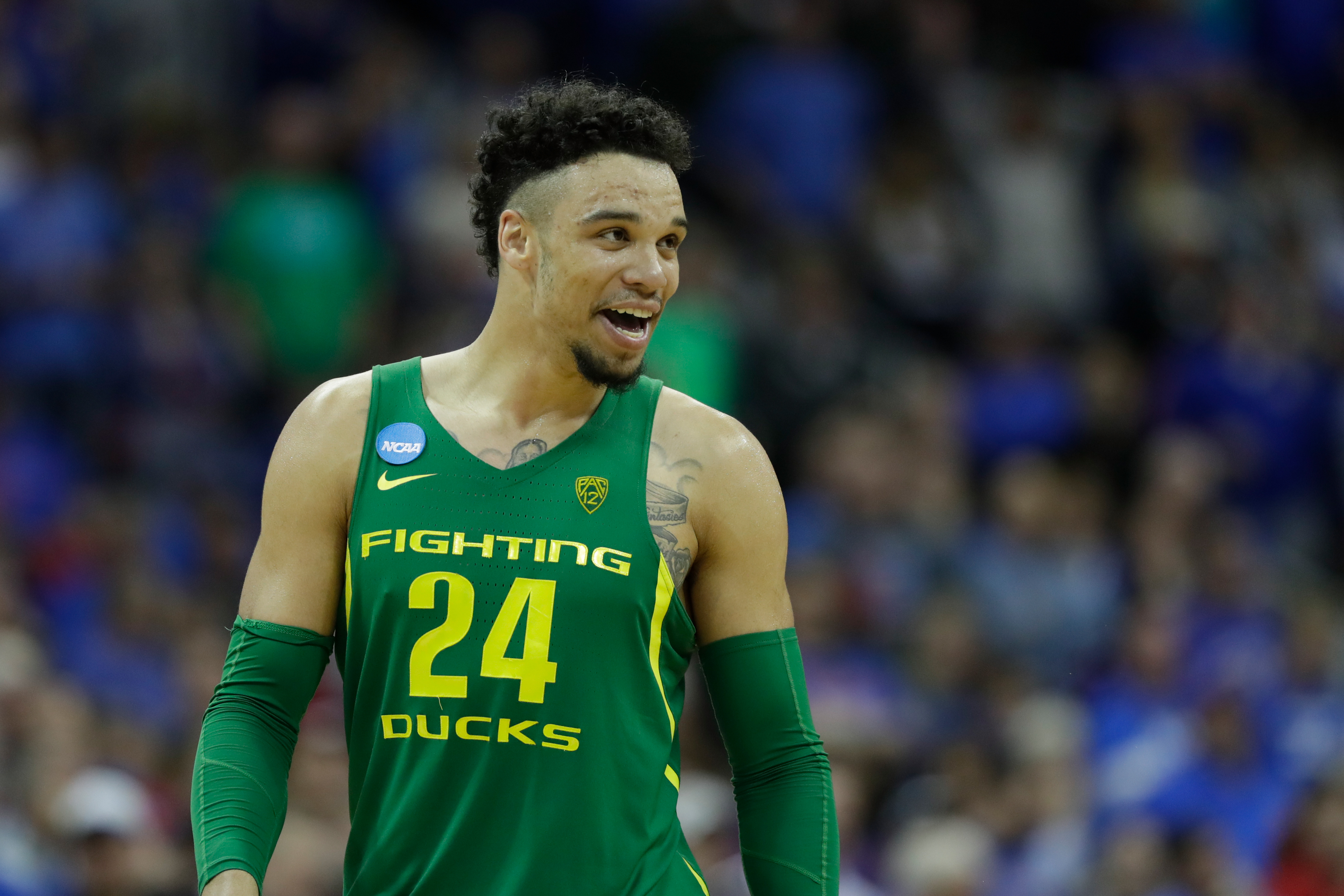 ankle oregons dillon brooks - HD 4467×2978