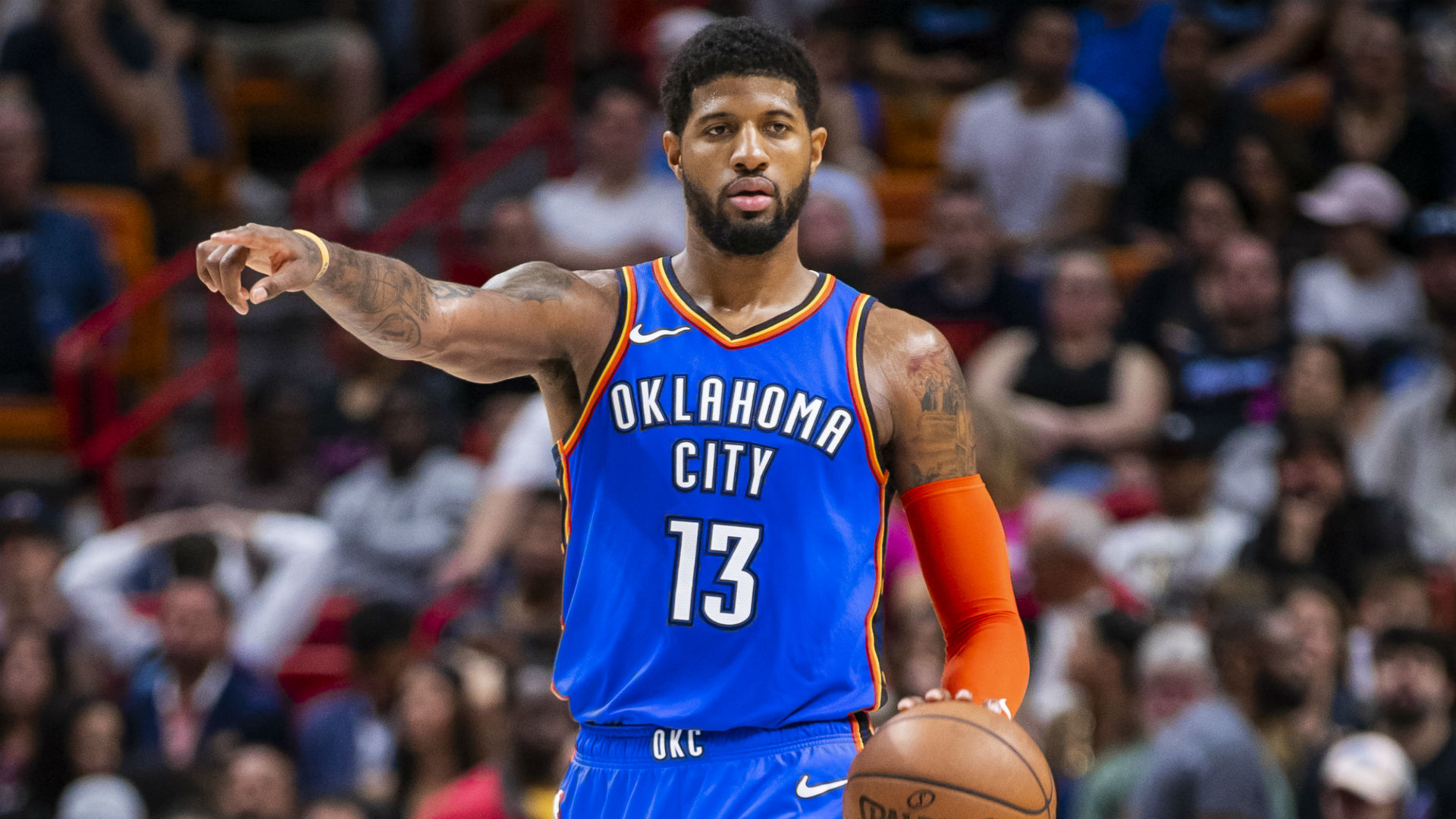 Paul George explodes for 43 points in Oklahoma City ...